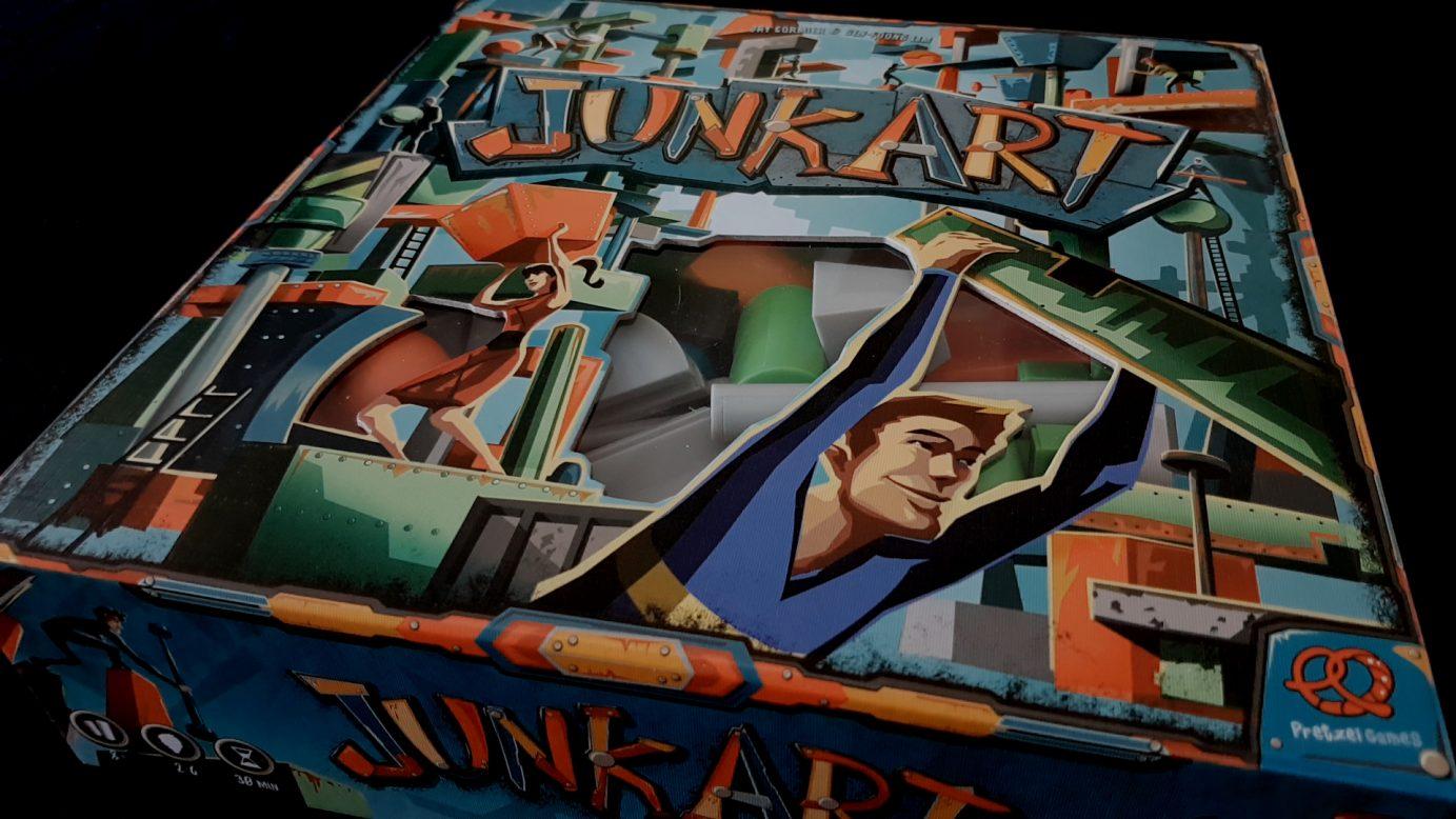 Junk art box