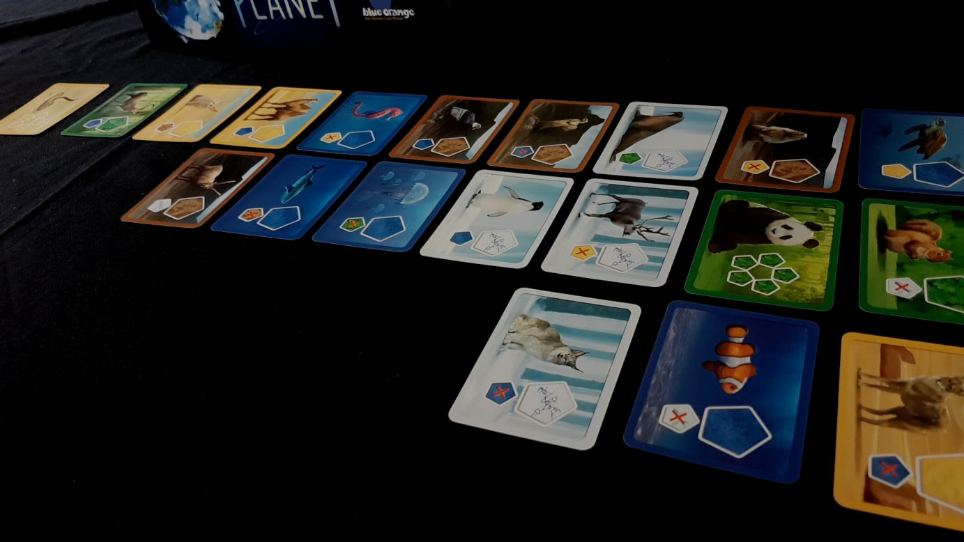 Card marketplace in Planet