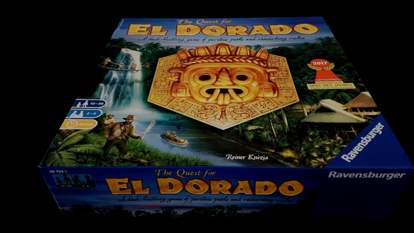 Quest for El Dorado box