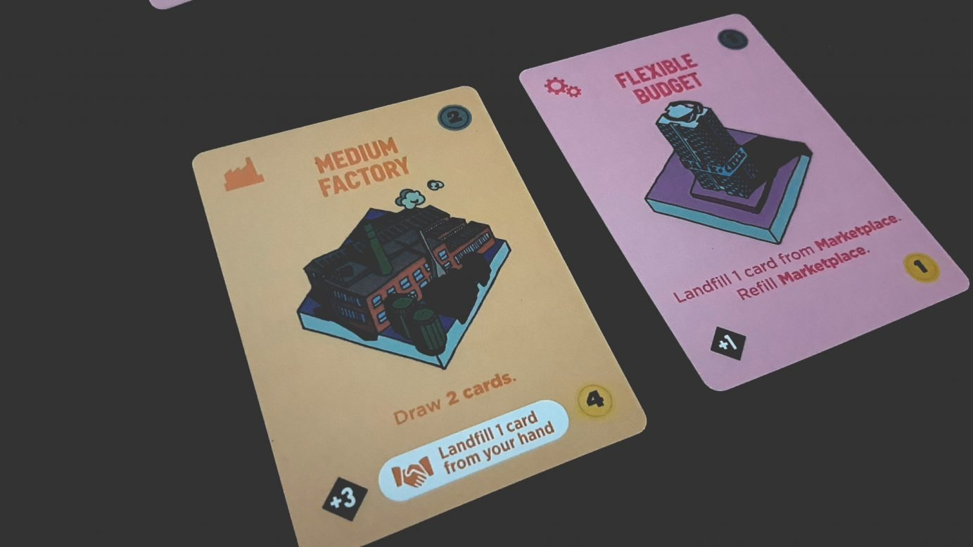 Carbon City Zero cards