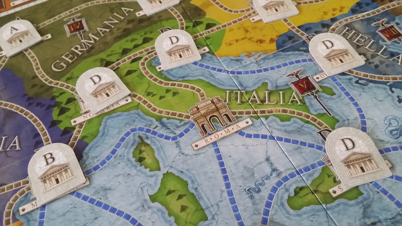 Concordia as one of the best board games for couples