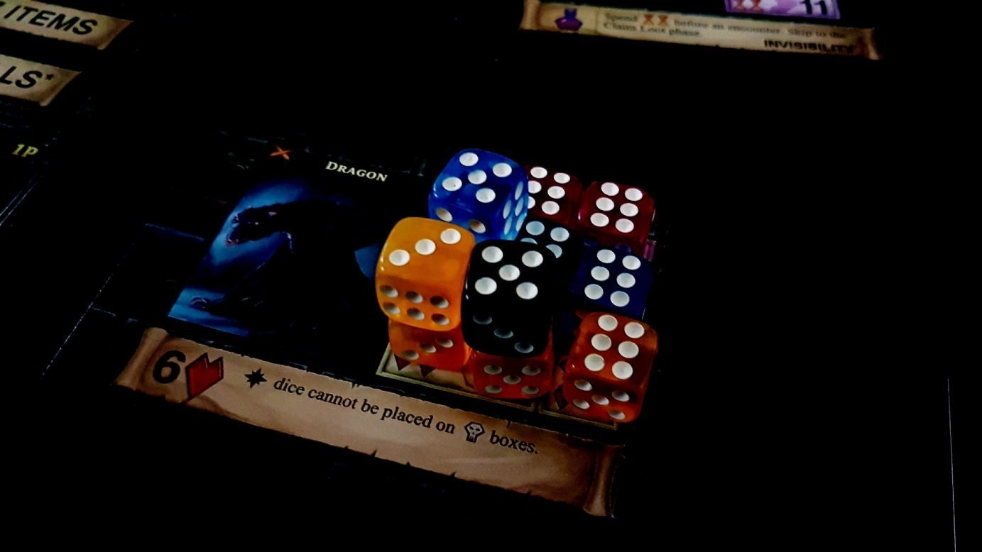 One Deck Dungeon as one of the best board games for couples