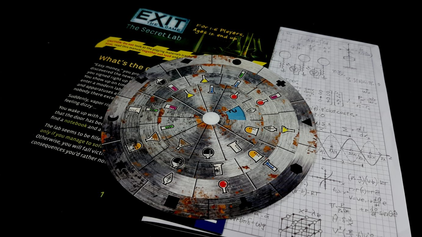 Exit as one of the best board games for couples