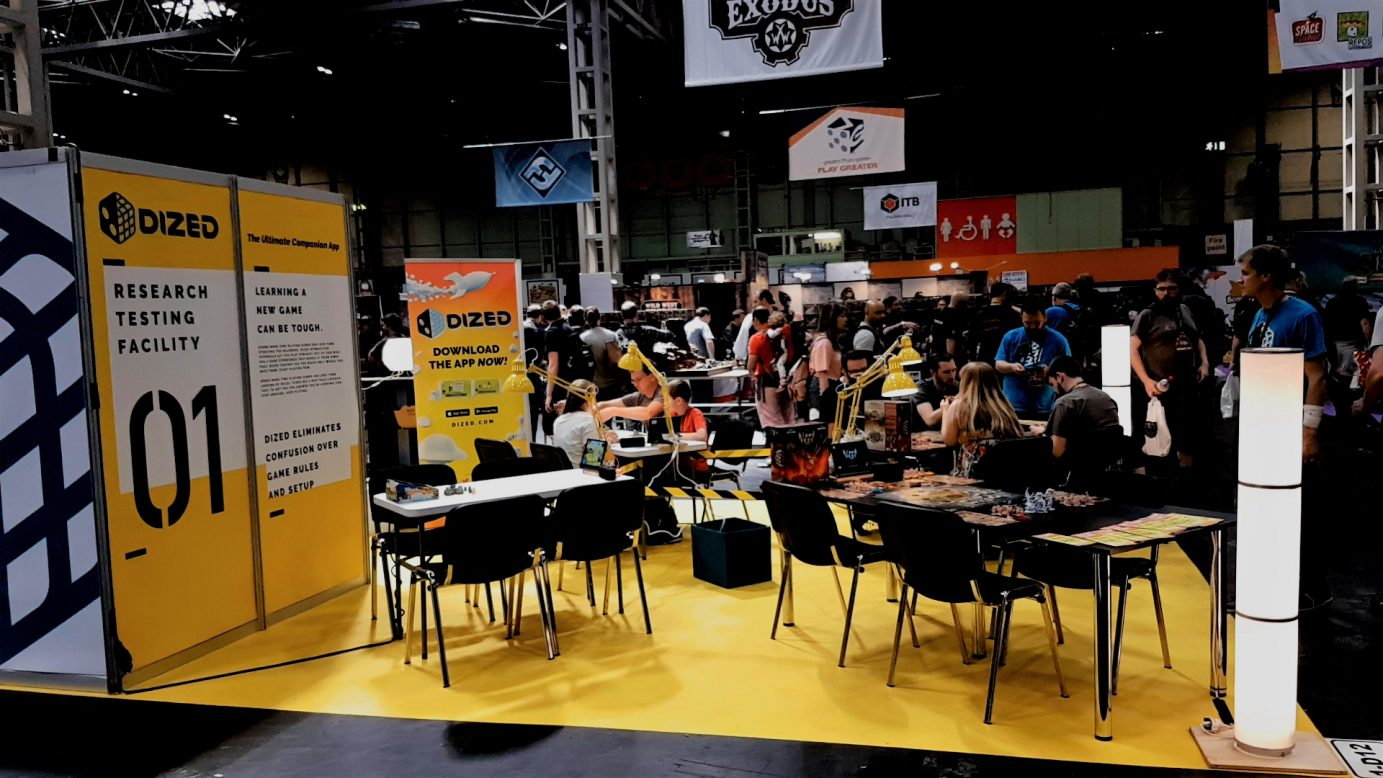 A picture of branding at the UKGE