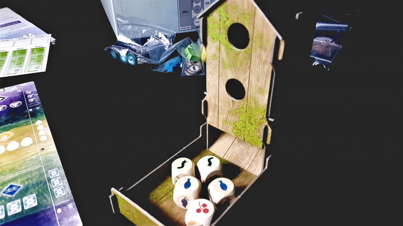 Wingspan Dice Tower