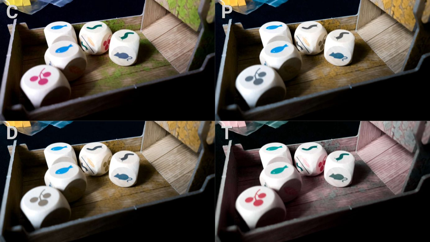 Wingspan colour blindness dice