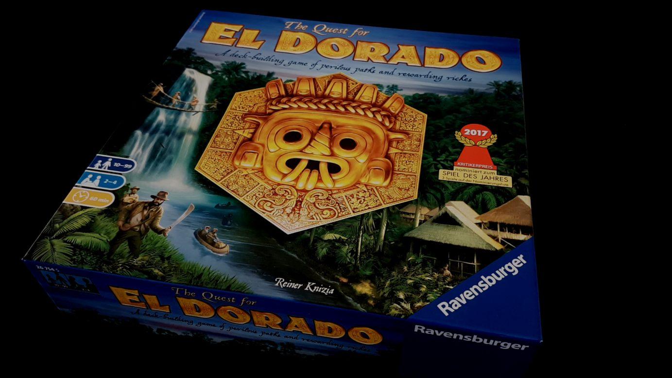 Quest for El Dorado box