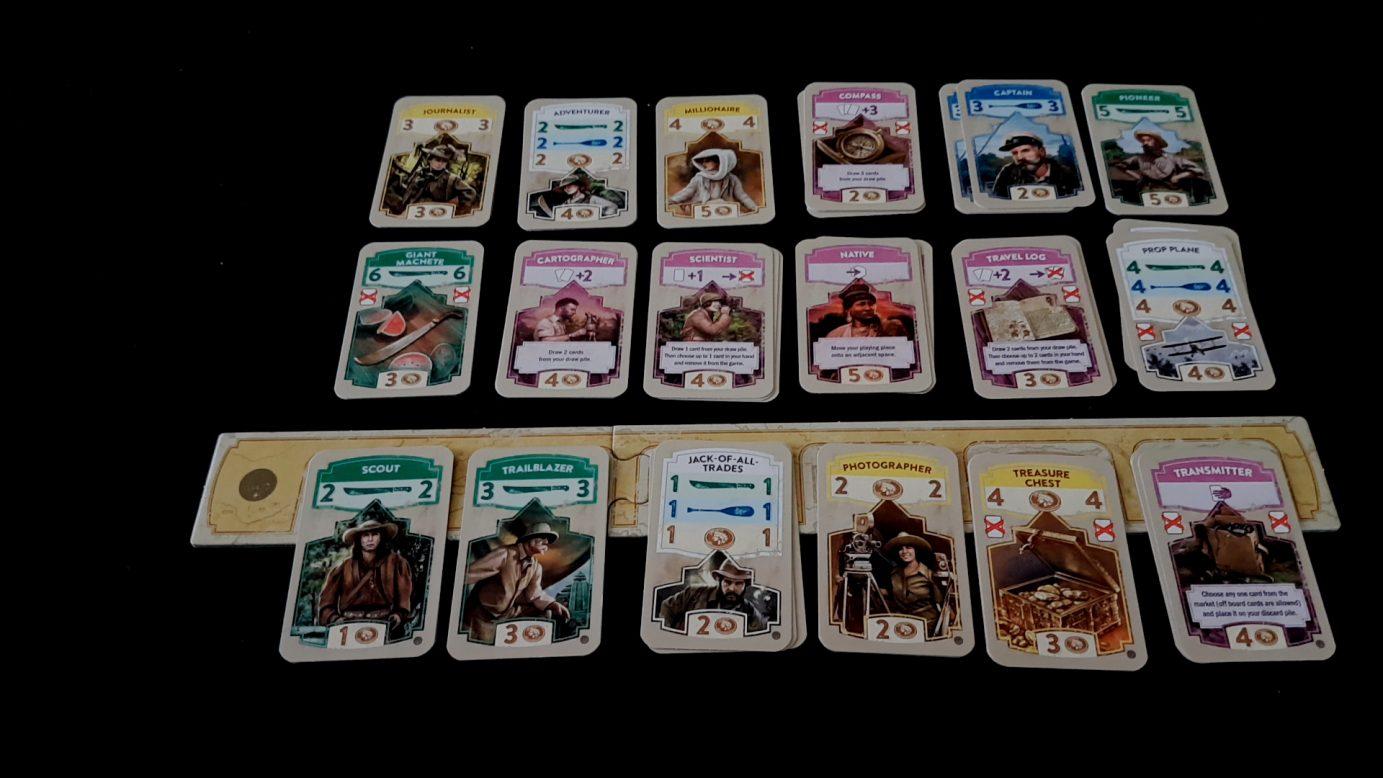 Cards in the Quest for El Dorado