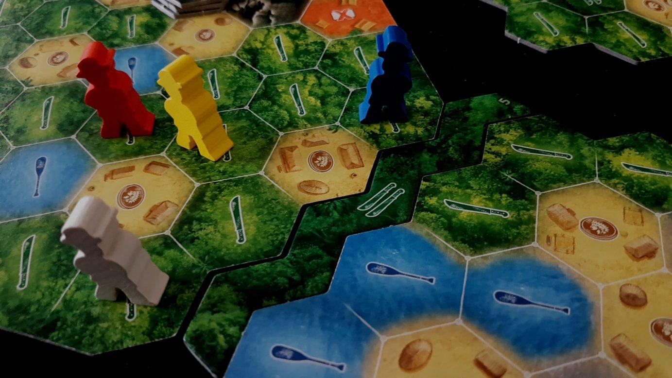 Modular board in Quest for El Dorado