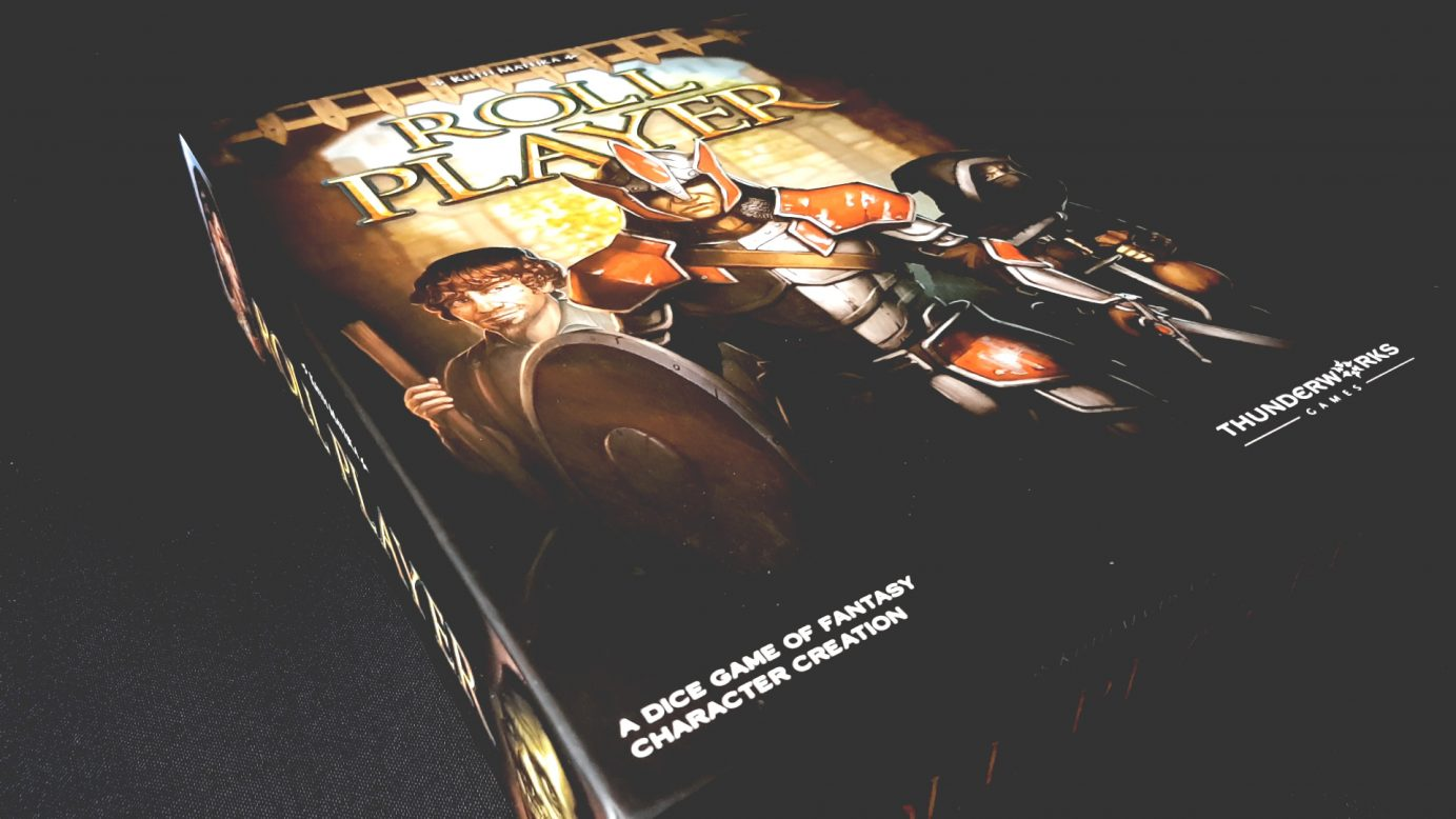 Roll player box