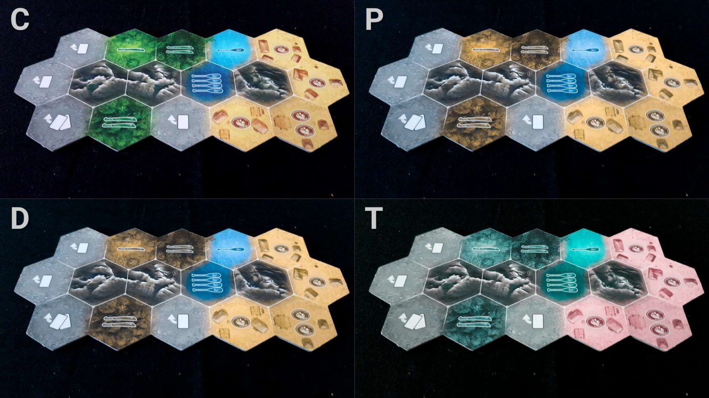 Colour blindness and terrain