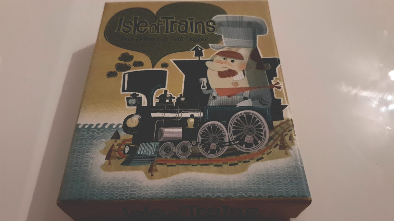 Isle of Trains box