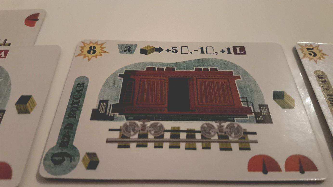 Boxcar card