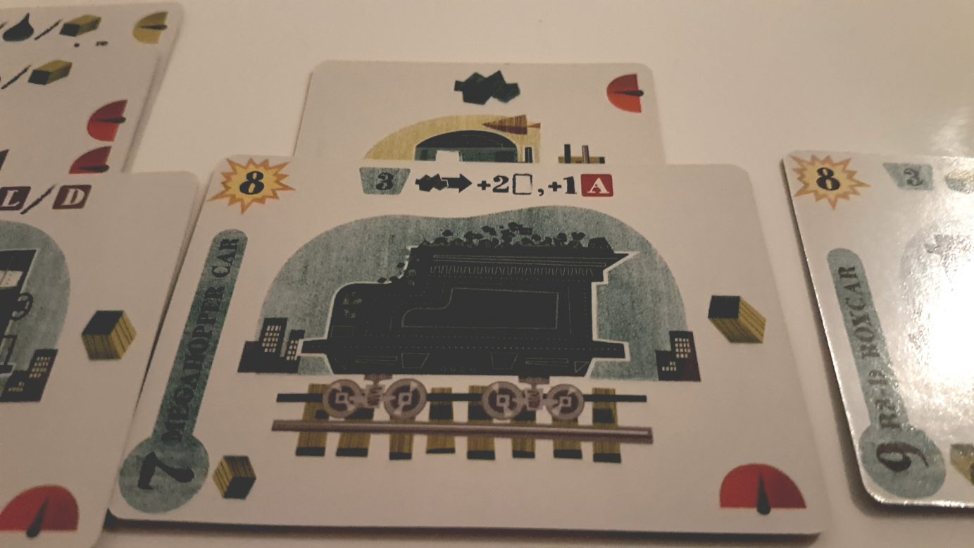 Coal hopper card