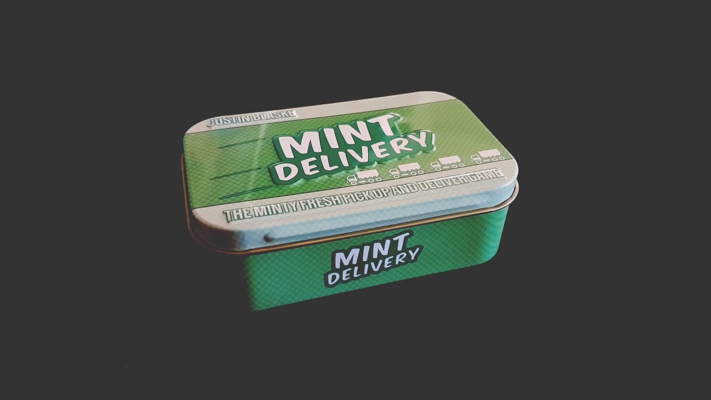 Mint delivery tin