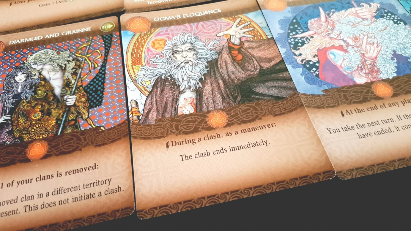 Epic tale cards