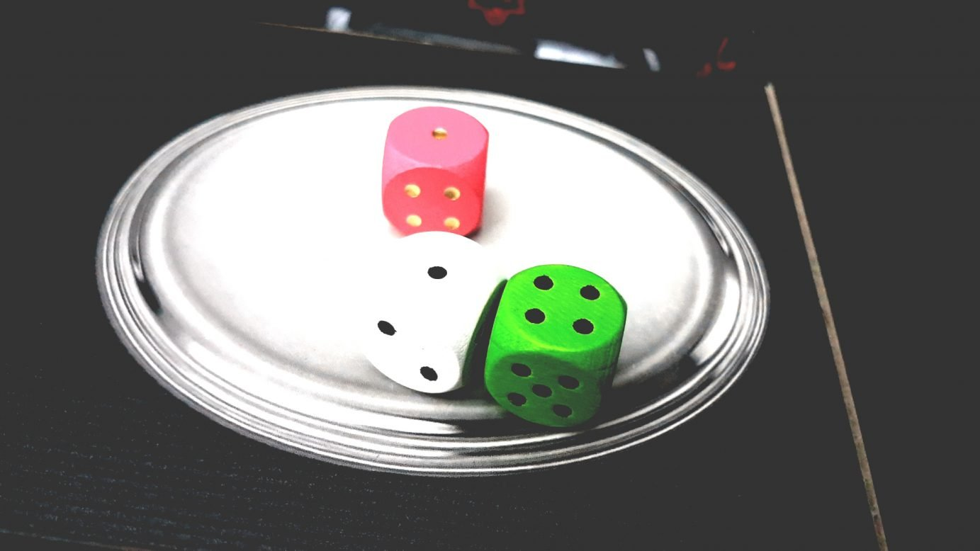 Discard dice in Doppelt So Clever