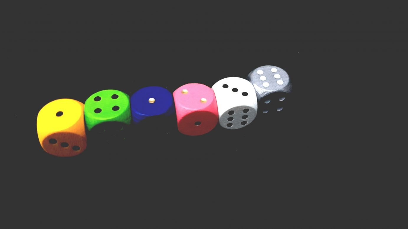 An ideal roll of dice