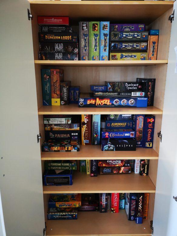 Much neater shelves