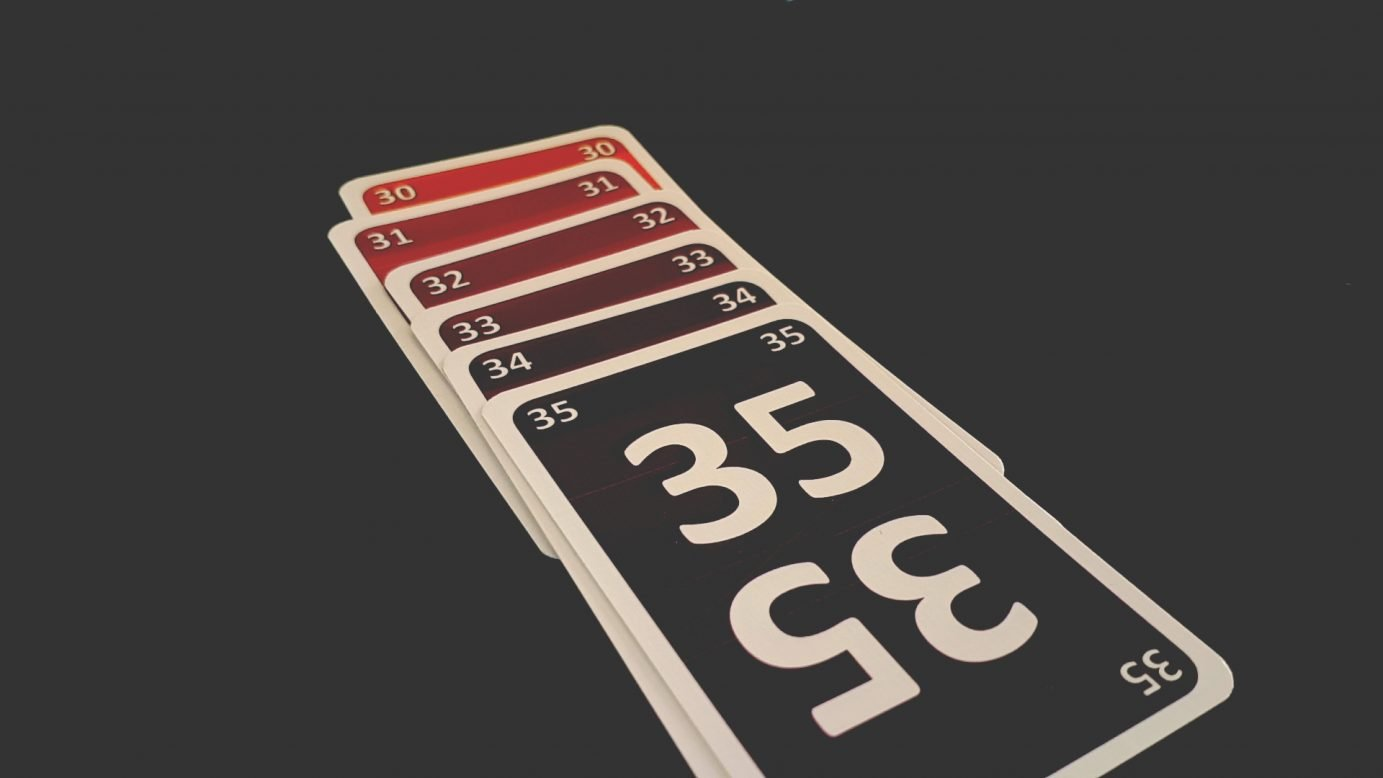 A full sequence of cards