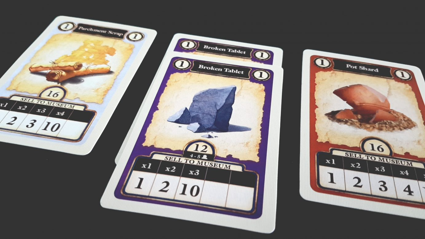 Cards in Archaeology