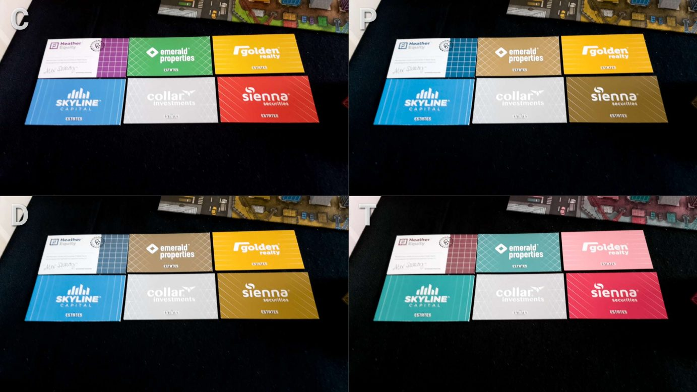 Colour blindness and cards in The Estates