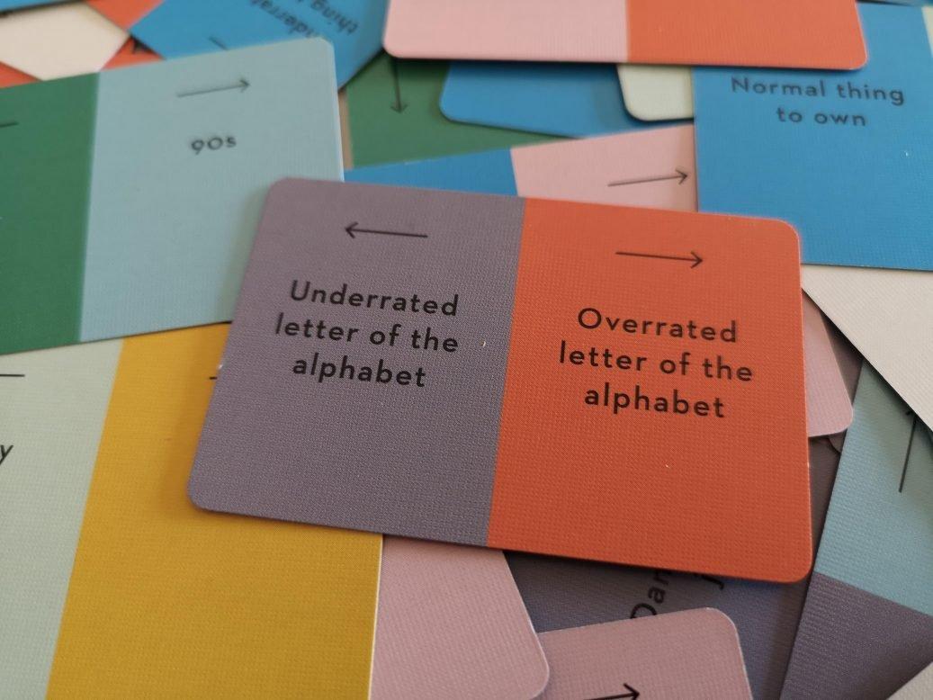Letter of the Alphabet spectrum