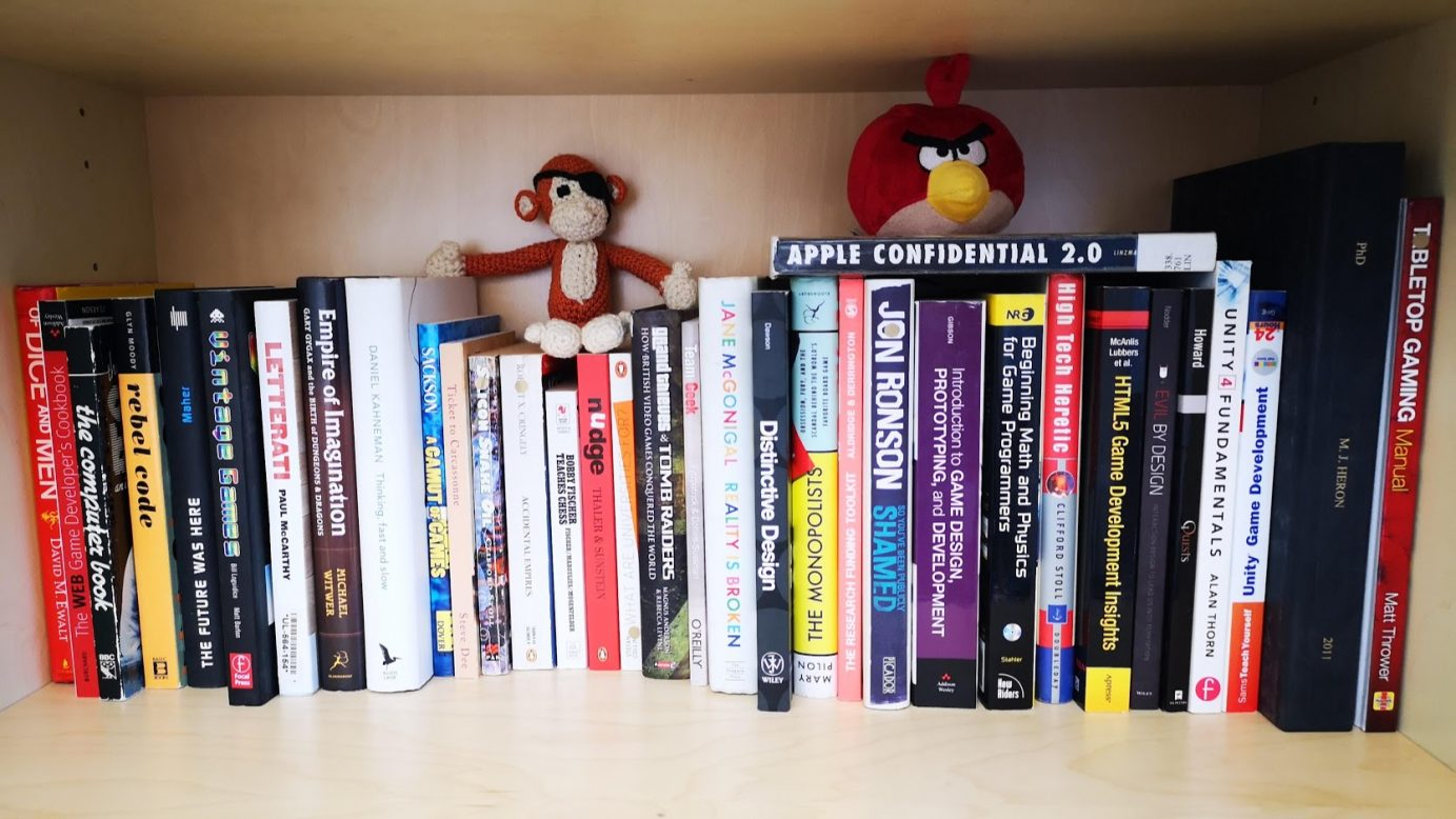Ten great books for people serious about games