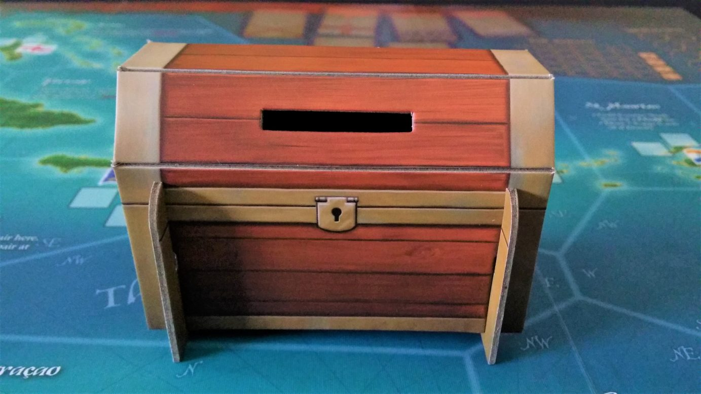 The Merchants and Marauders treasure chest