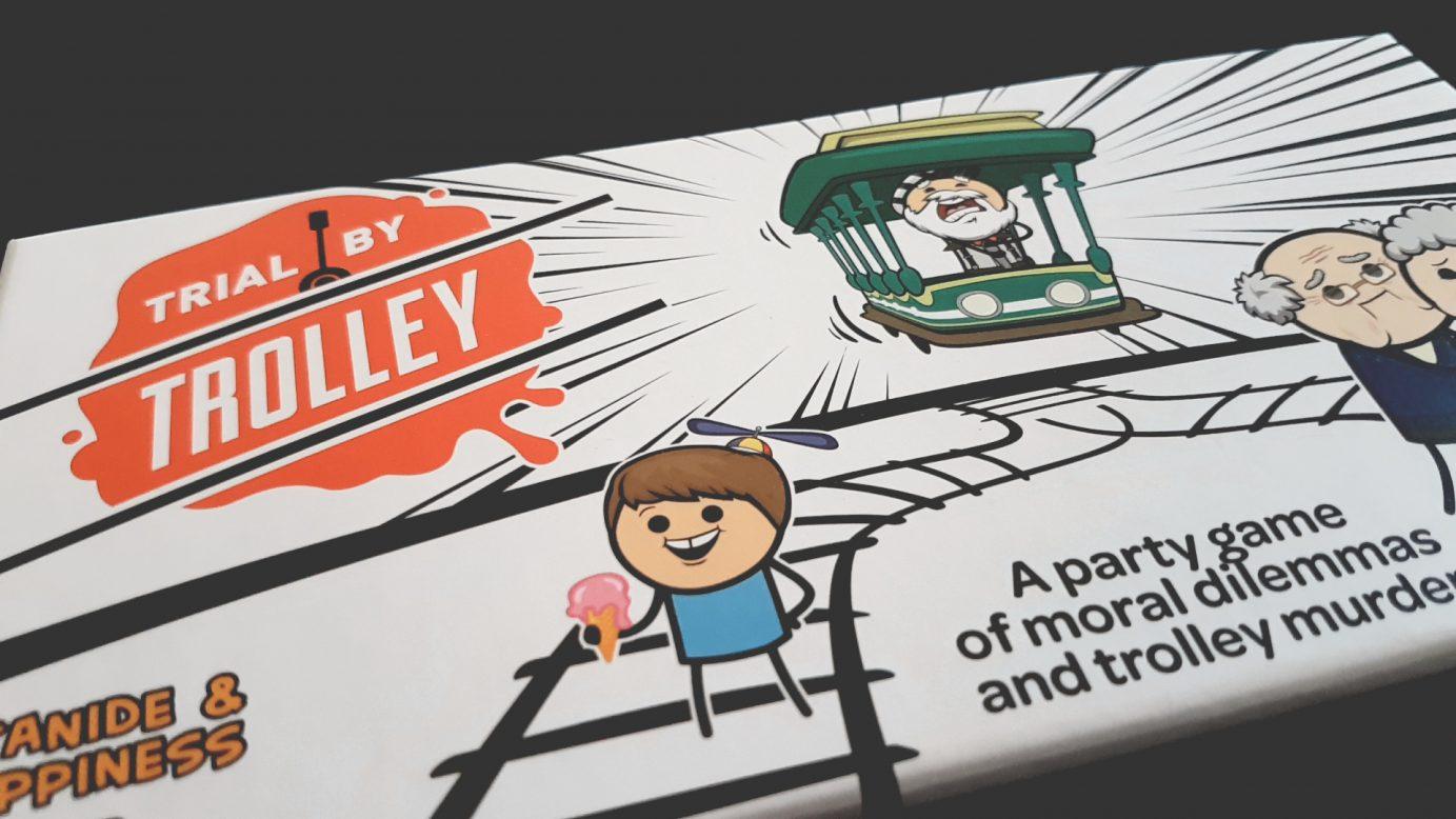 Trial by Trolley box