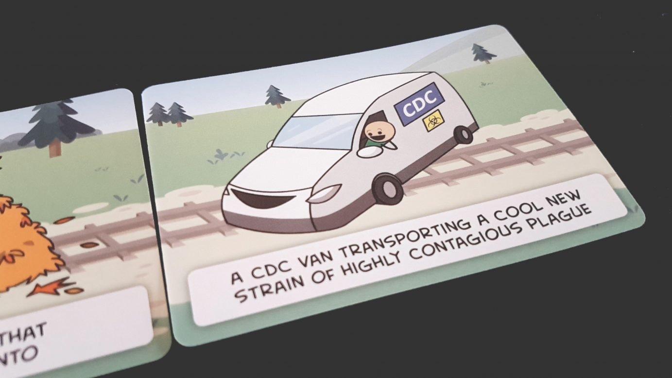 A Trial by Trolley card