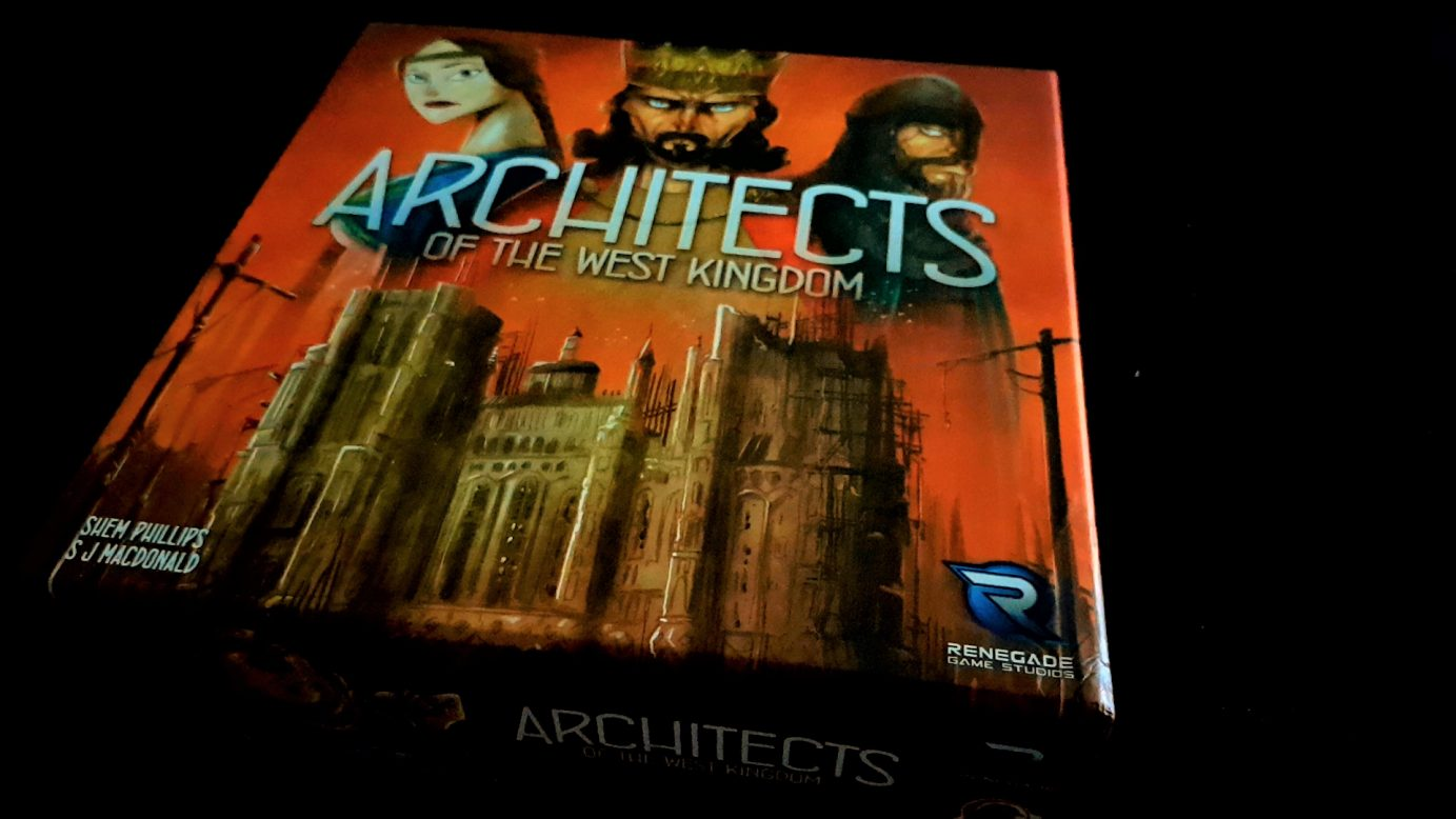 Architects of the West Kingdom box