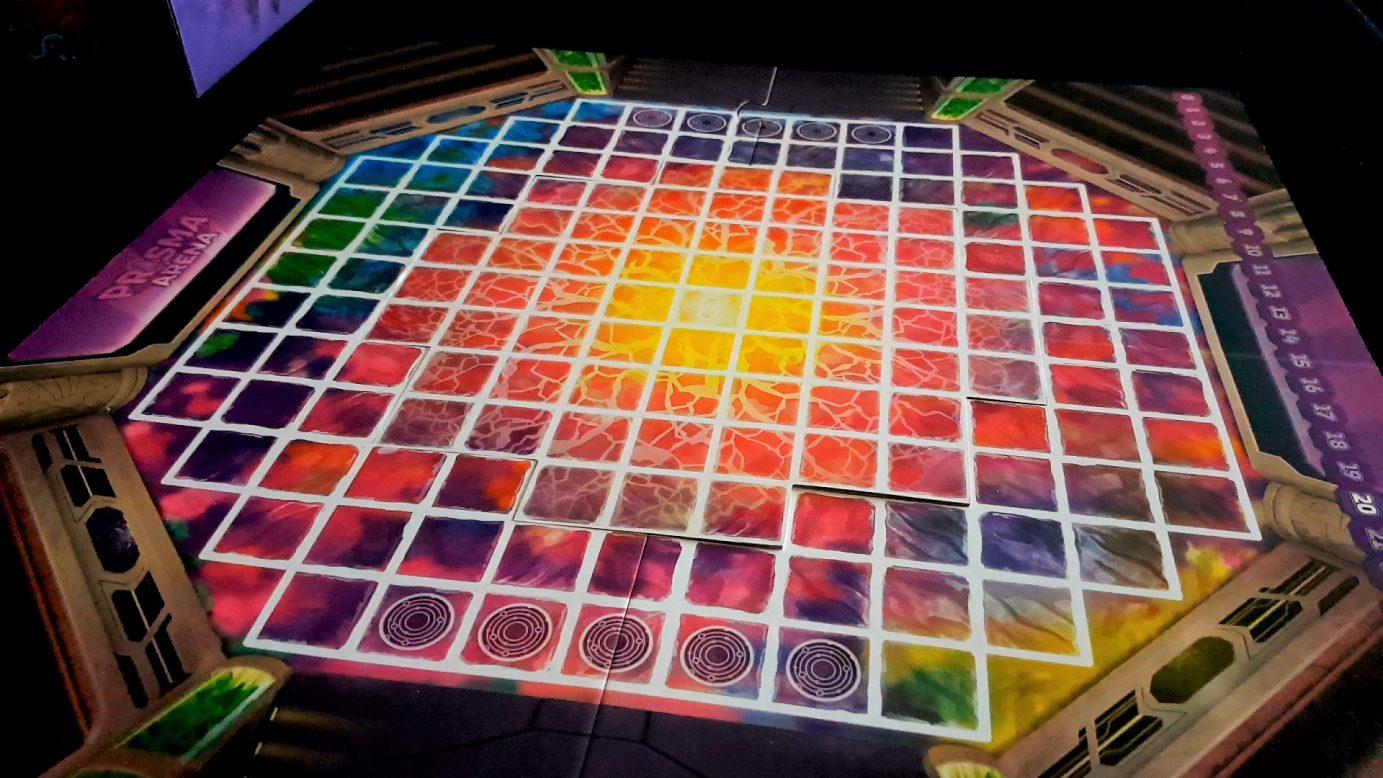 Prisma Arena board