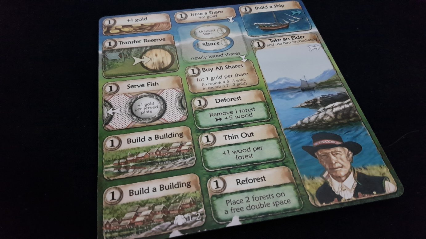 Nusfjord action board