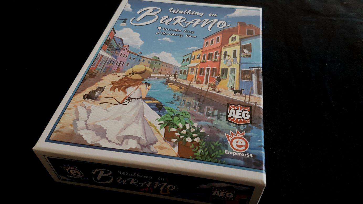 Walking in Burano Box