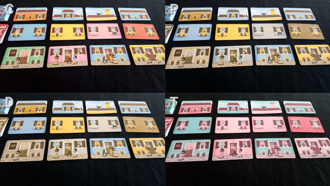Welcome to Burano colour blindness offering of cards