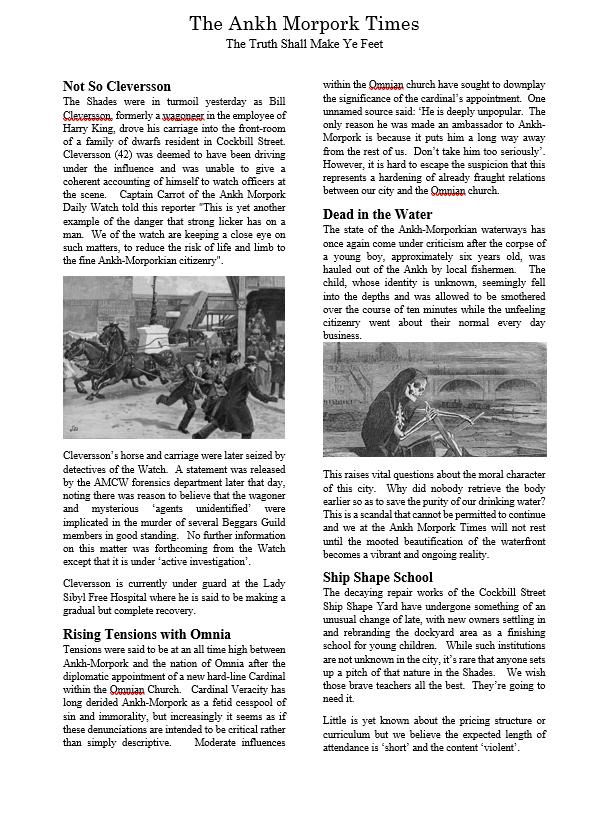 Ankh-Morpork Times 1