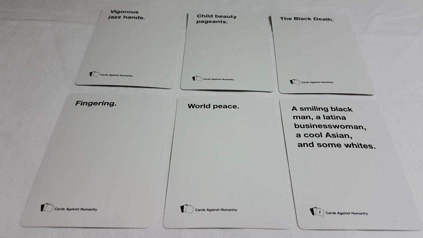 Cards Against Humanity (22) - Accessibility Teardown (NSFW Intended For Cards Against Humanity Template